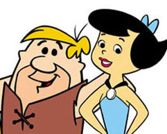 Barnie and betty rubbles