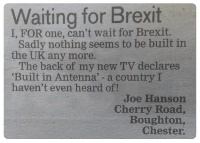 24 Best Brexit Jokes – The Ultimate Collection (2019