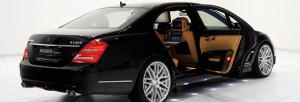 brabus 800 limousine side