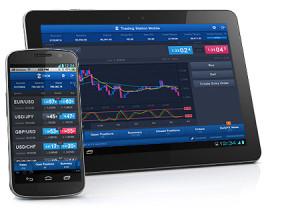 FXCM mobile platforms