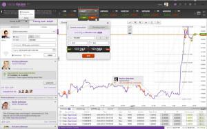 tradeo social trading platform full feature screenshot