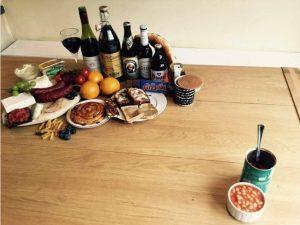 Brexit meme food from europe vs british food