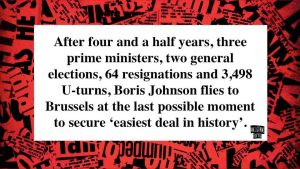 Brexit joke easiest deal in history after four and half years three prime ministers