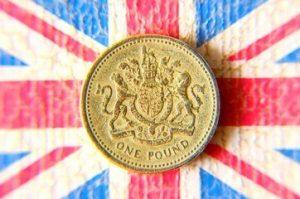 quid one british pound coin